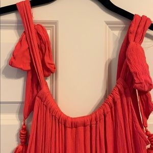 Free People Dresses - Hot coral free people maxi dress